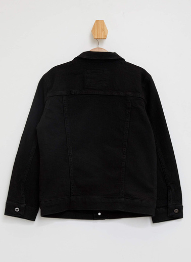 DeFacto Jean Ceket Siyah